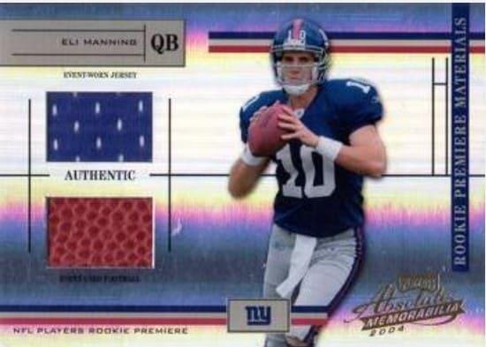 2004 Absolute Memorabilia Eli Manning RC #225