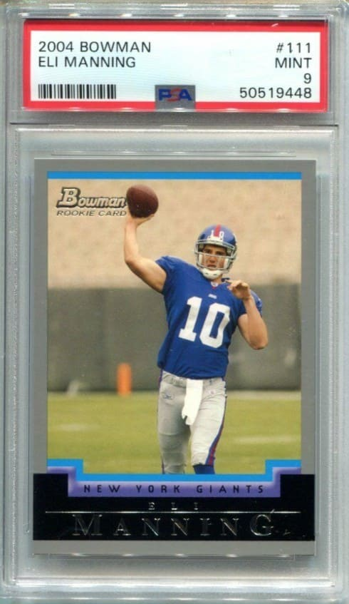 2004 Bowman Eli Manning RC #111