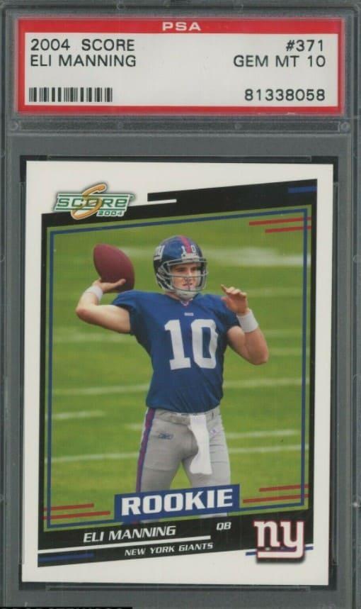 2004 Score Eli Manning RC #371