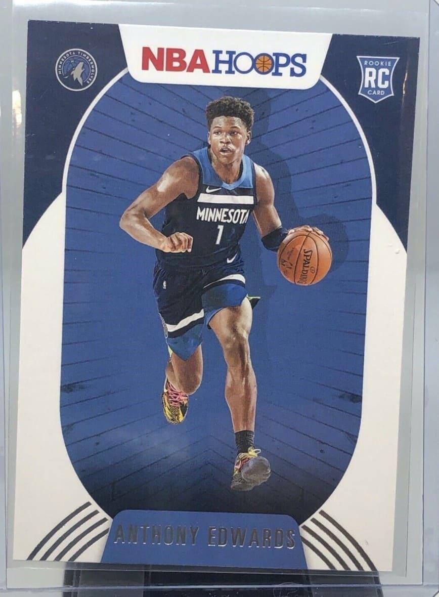 2020 NBA Hoops Anthony Edwards RC #216
