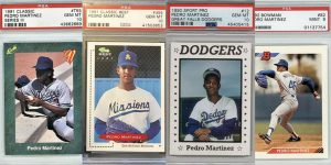 Pedro Martinez Rookie Card Options for Featured IMage
